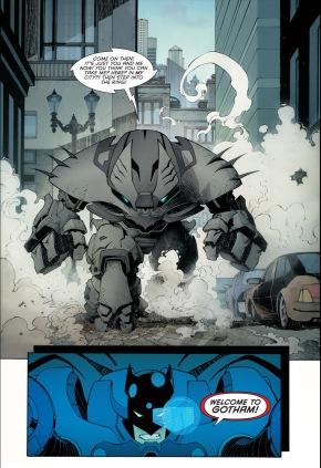 batman's justice buster suit