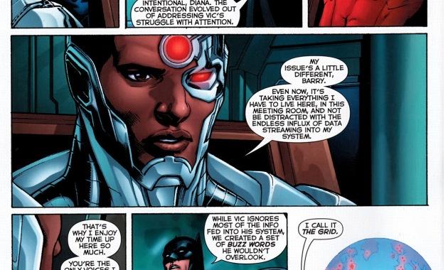 cyborg's attention span problem