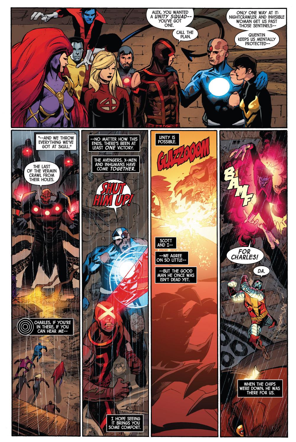 Cyclops And Havok Reconcile | Comicnewbies