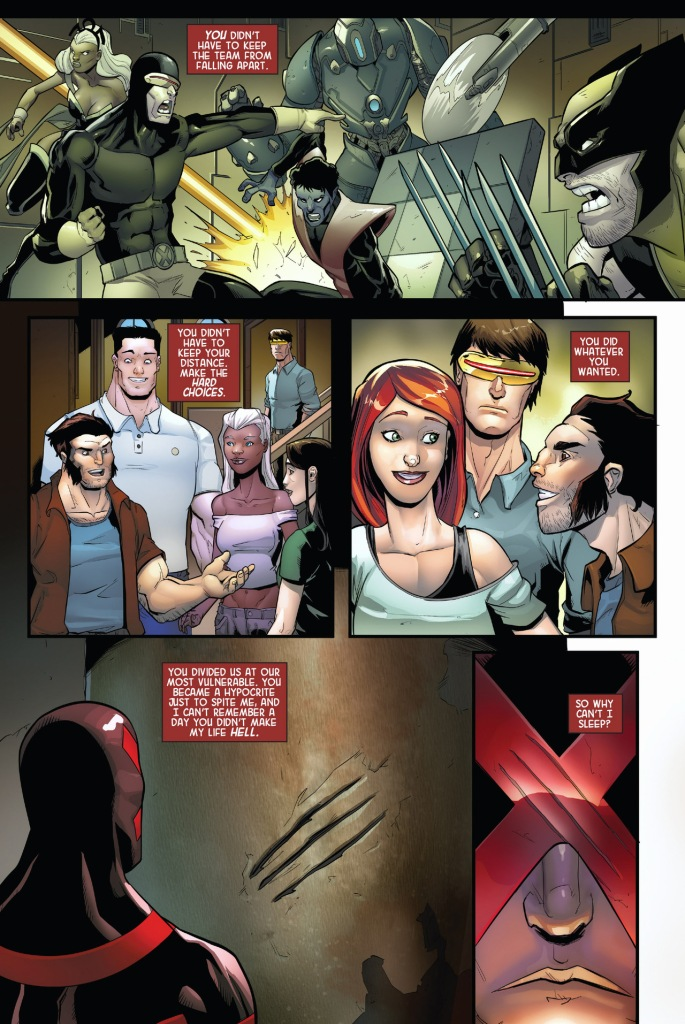 cyclops mourns wolverine