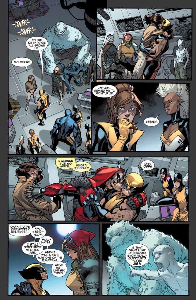 future x-men meets wolverine and the x-men