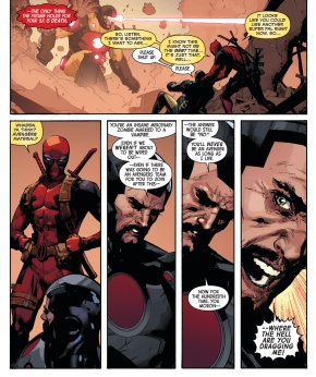 iron man on deadpool joining the avengers