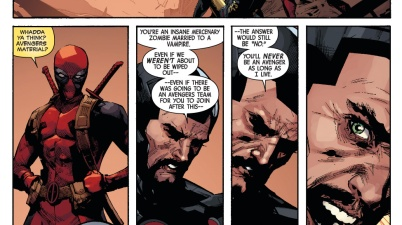 iron man on deadpool joining the avengers