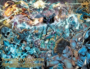 justice league hopefuls vs atlantean army