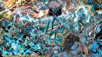 justice league hopefuls vs atlantean army