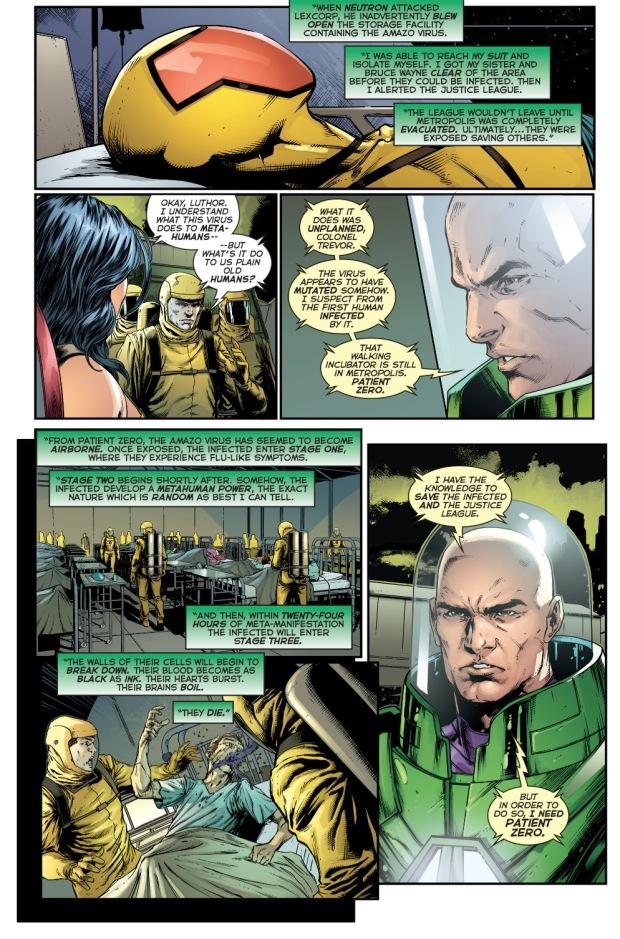 lex luthor explains the amazo virus
