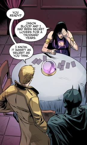 madame xanadu's secret lover