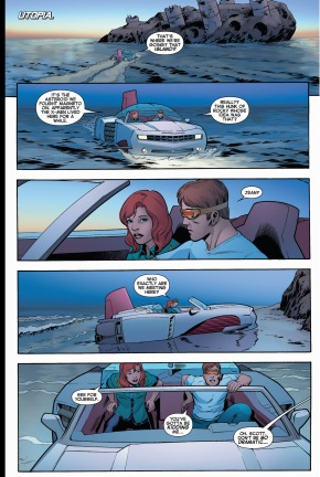 original 5 cyclops and jean grey meets with the uncanny x-men