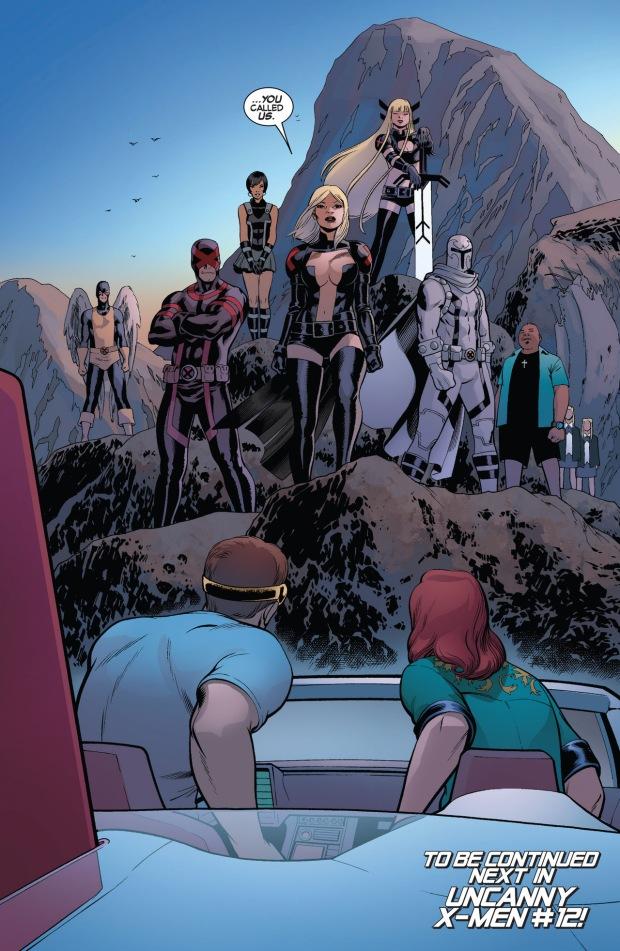 original 5 cyclops and jean grey meets with the uncanny x-men