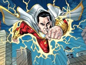 shazam rescues superman