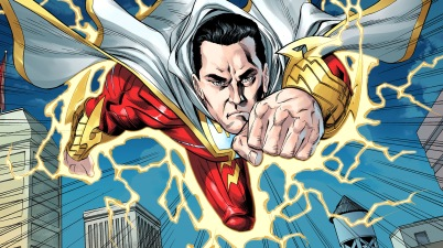 shazam rescues superman