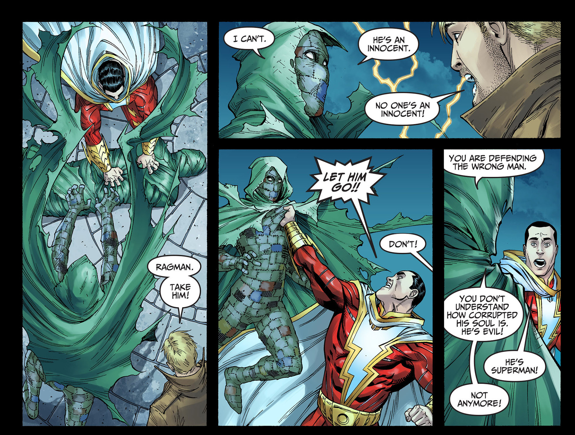 Shazam Rescues Superman Comicnewbies