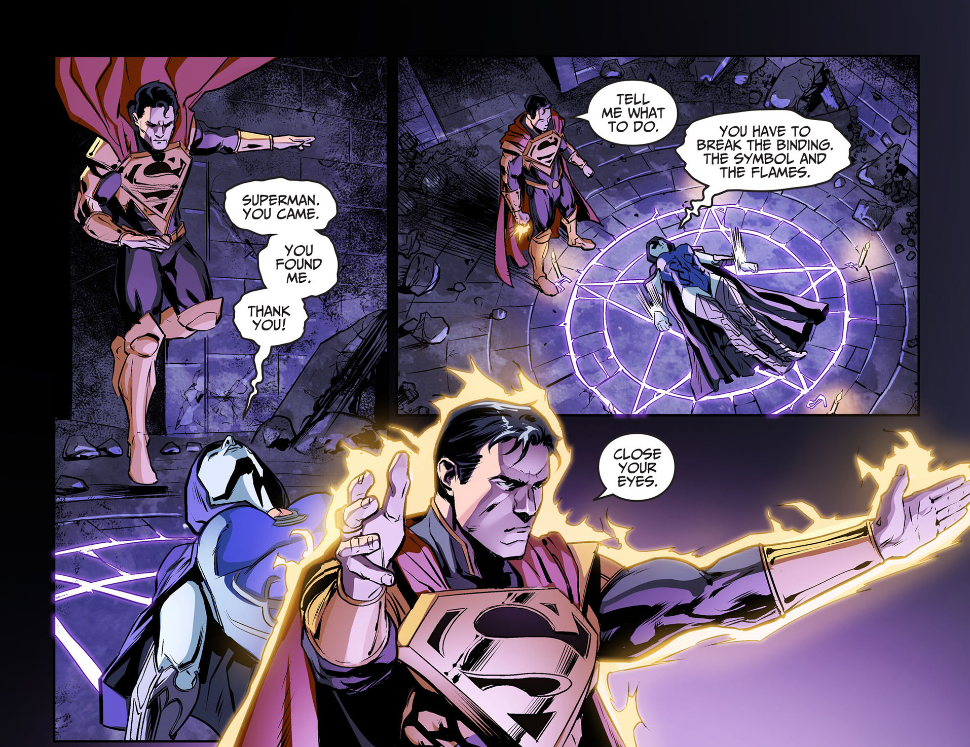 superman rescues raven comicnewbies