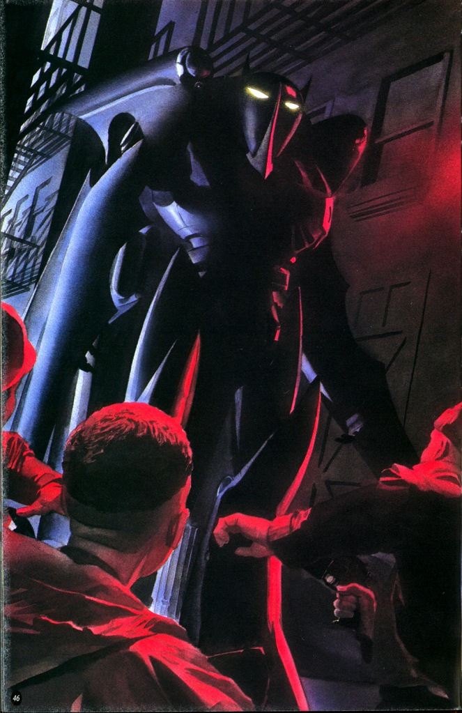 bat-knights keeping gotham safe
