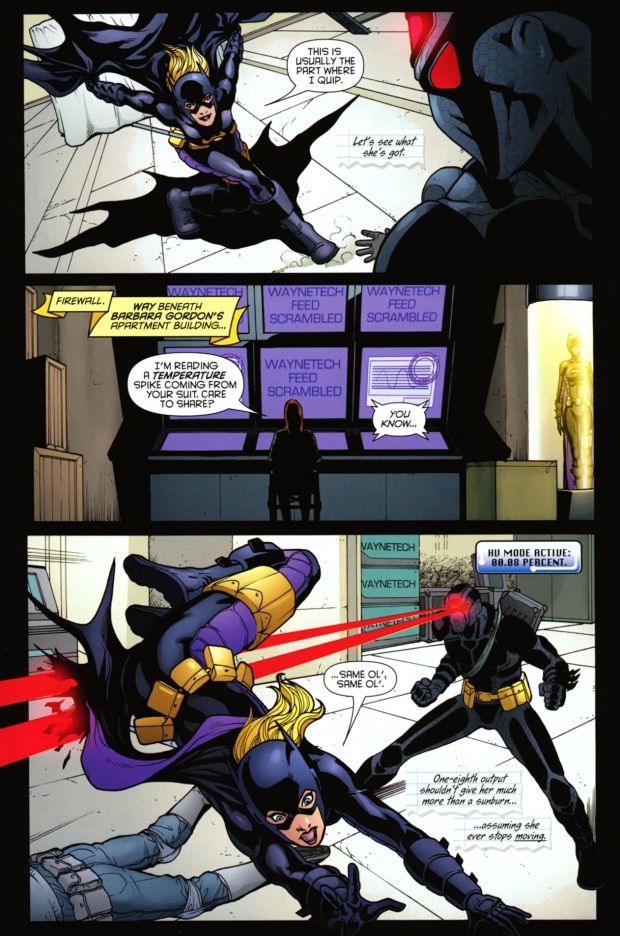 batgirl vs the insider