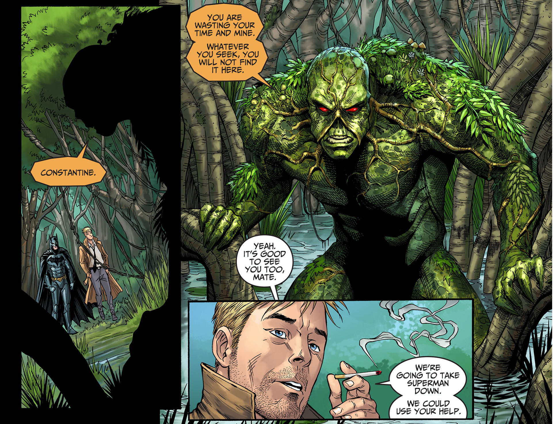 Resultado de imagen de constantine swamp