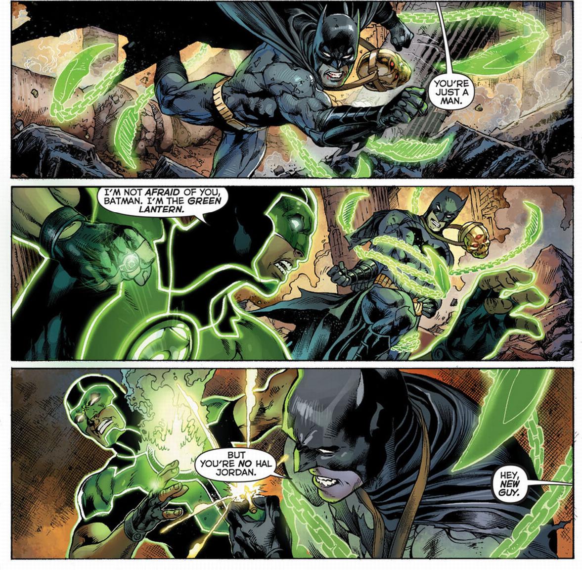 X 23 Gambit Batman VS Green Lanter...