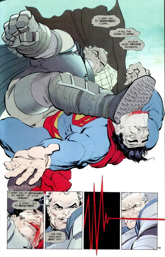 batman vs superman (the dark knight returns)