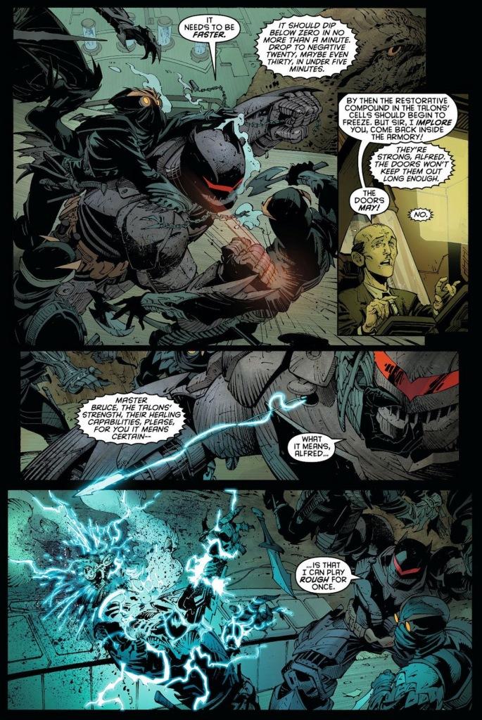 batman's court of owl armor vs talons