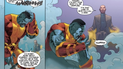 charles xavier II kills future colossus