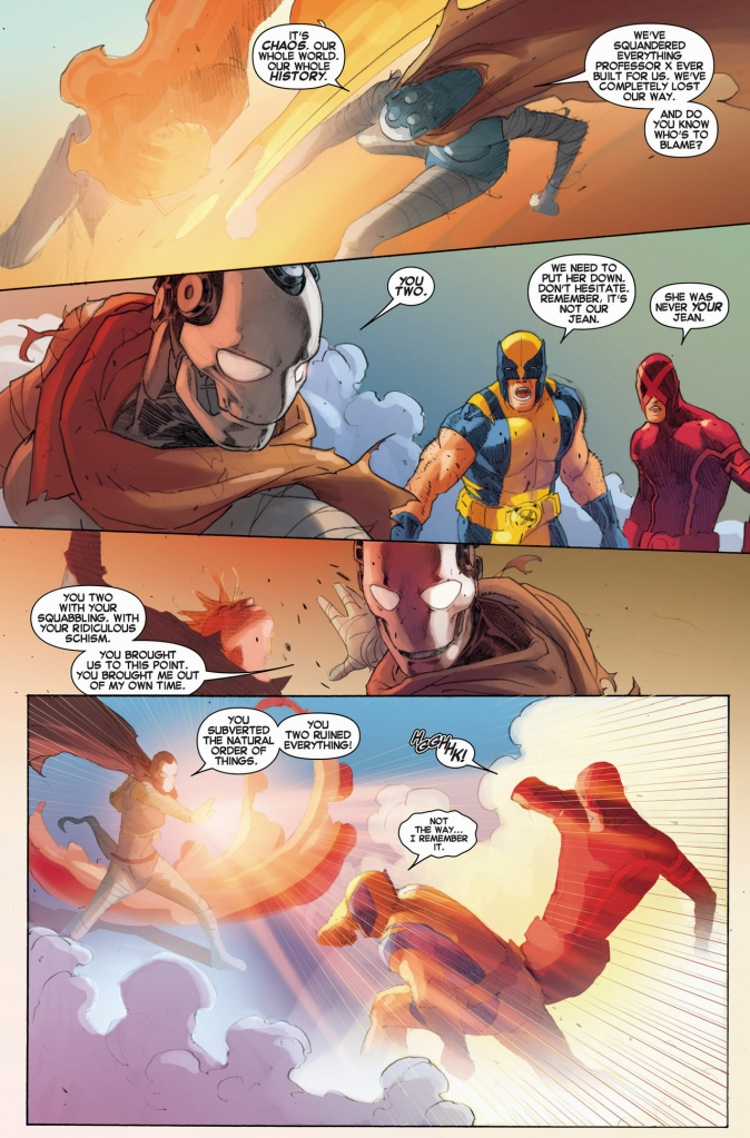 cyclops and wolverine vs future xorn