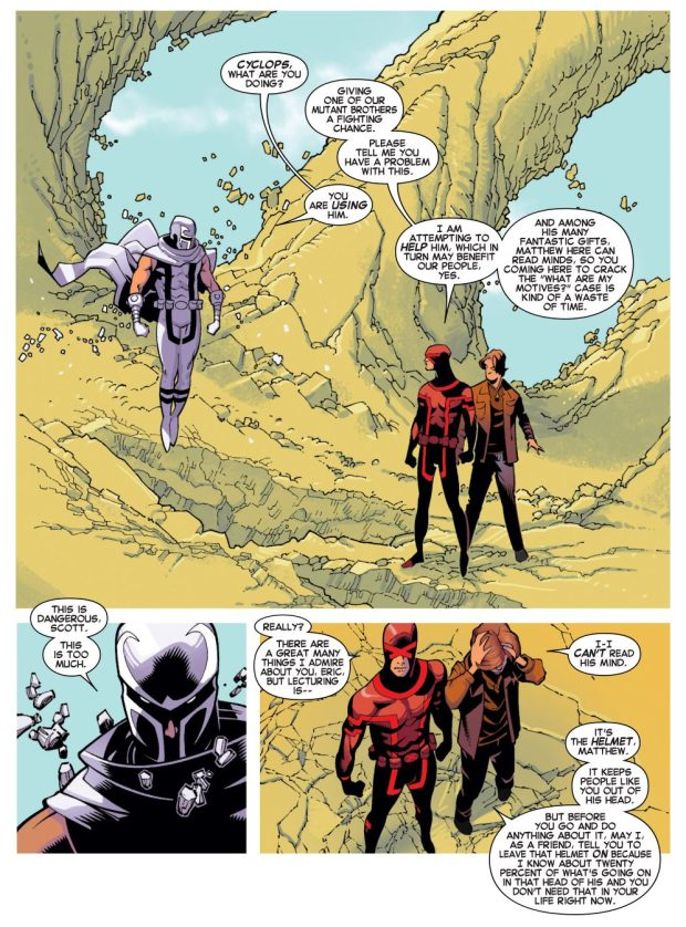 cyclops shows he's different from magneto