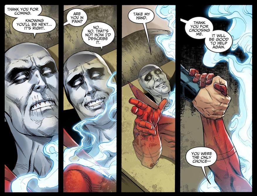deadman chooses his replacement