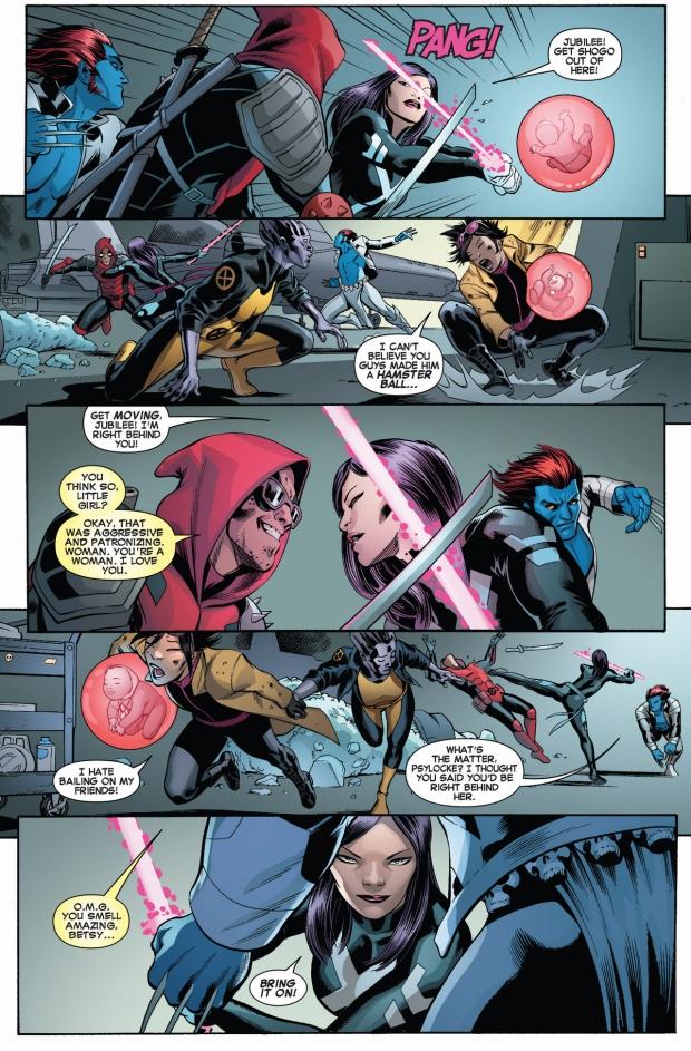 Psylocke Deadpool