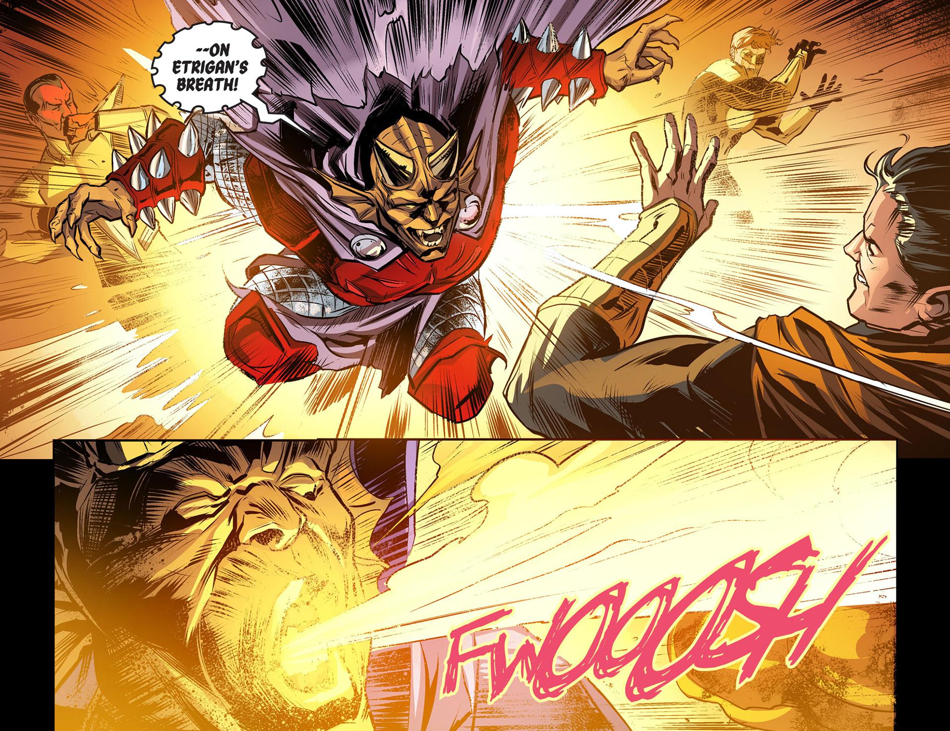 Etrigan Vs Superman Comic