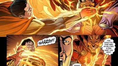 etrigan taunts superman