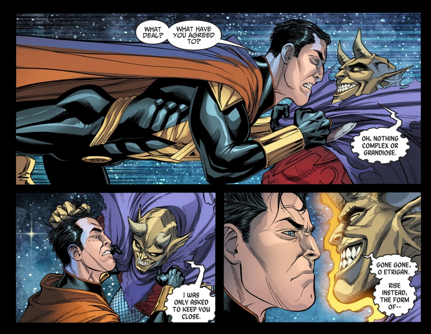etrigan taunts superman