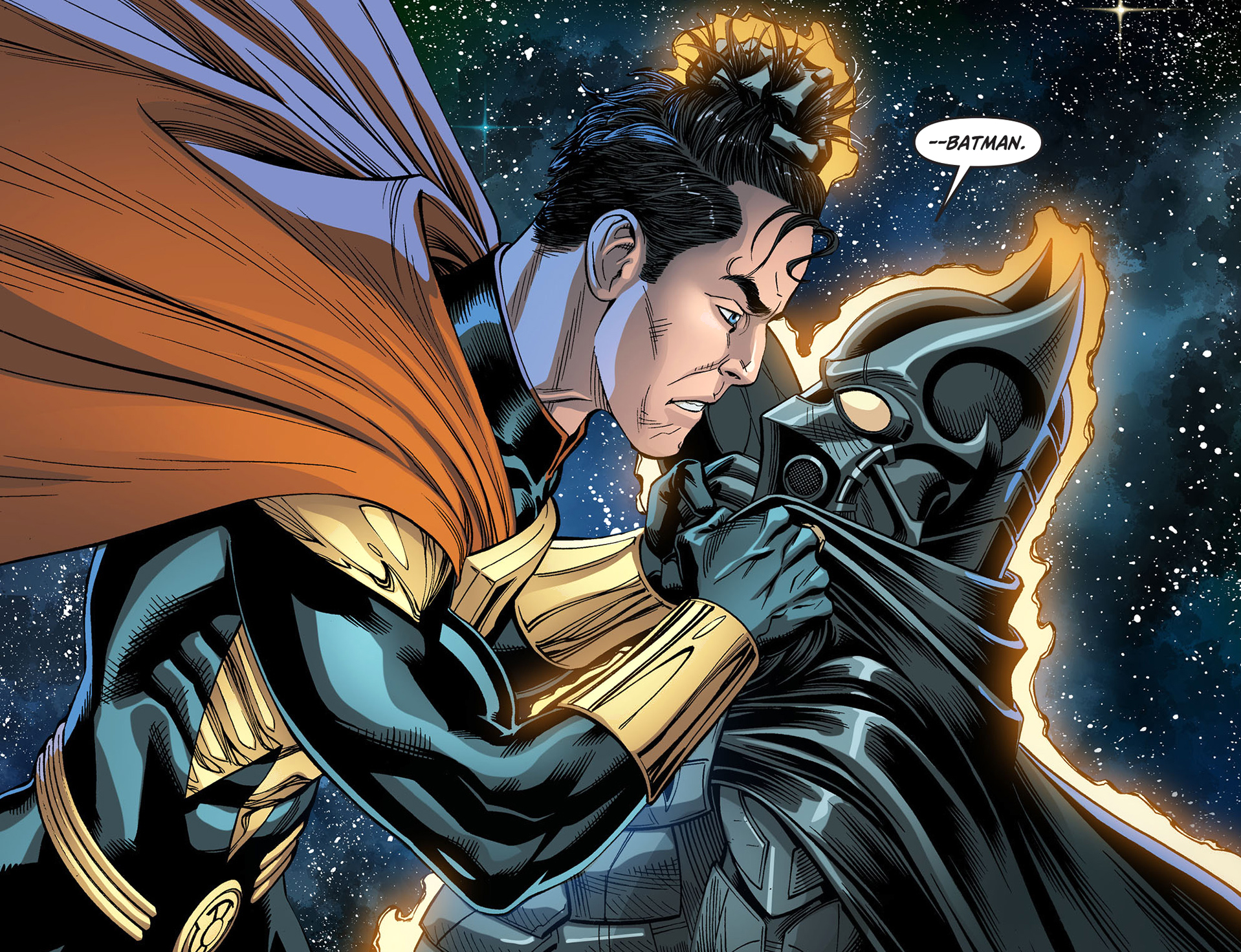 Etrigan Vs Superman Comic: Etrigan Taunts Superman