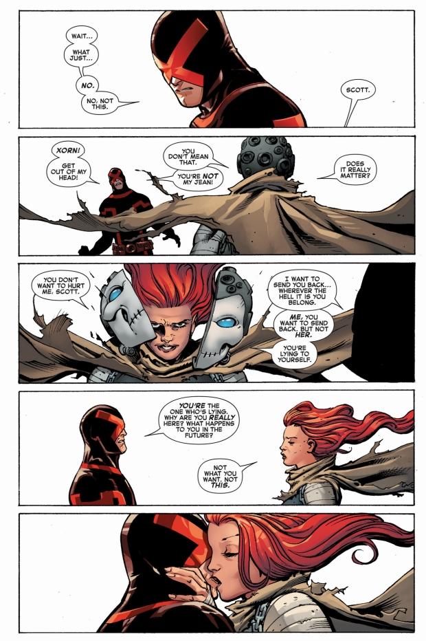 future xorn taunts cyclops