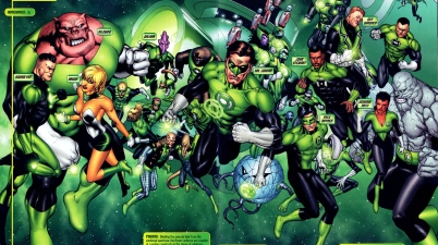green lantern corps (blackest night)