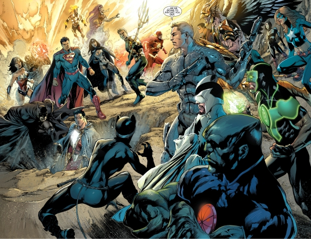 justice league of america confronts the justice league