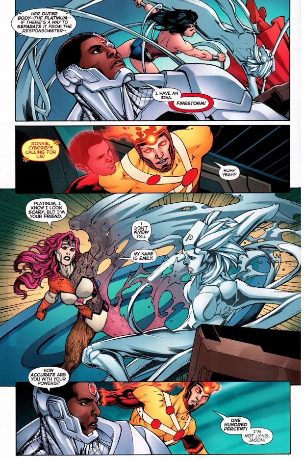 justice league vs platinum