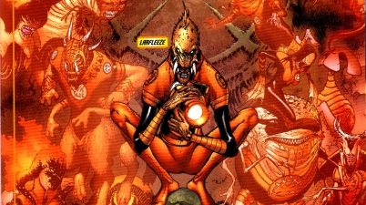 orange lanterns (blackest night)