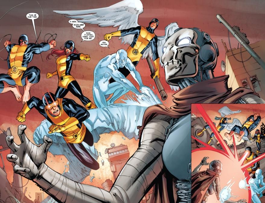 original 5 x-men vs future xorn