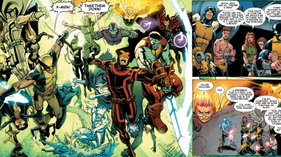 past, present and future x-men vs future brotherhood