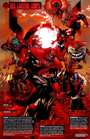 red lanterns (blackest night)