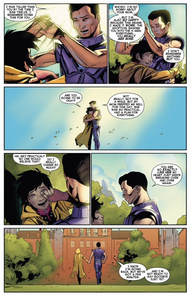 sentinel x shares a moment with jubilee