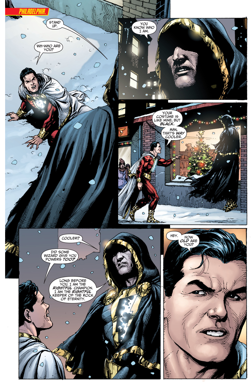 Black adam injustice new 52 images for 52 time table