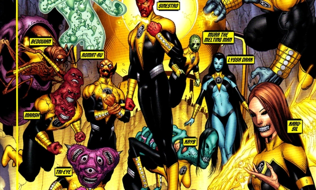 sinestro corps (blackest night)