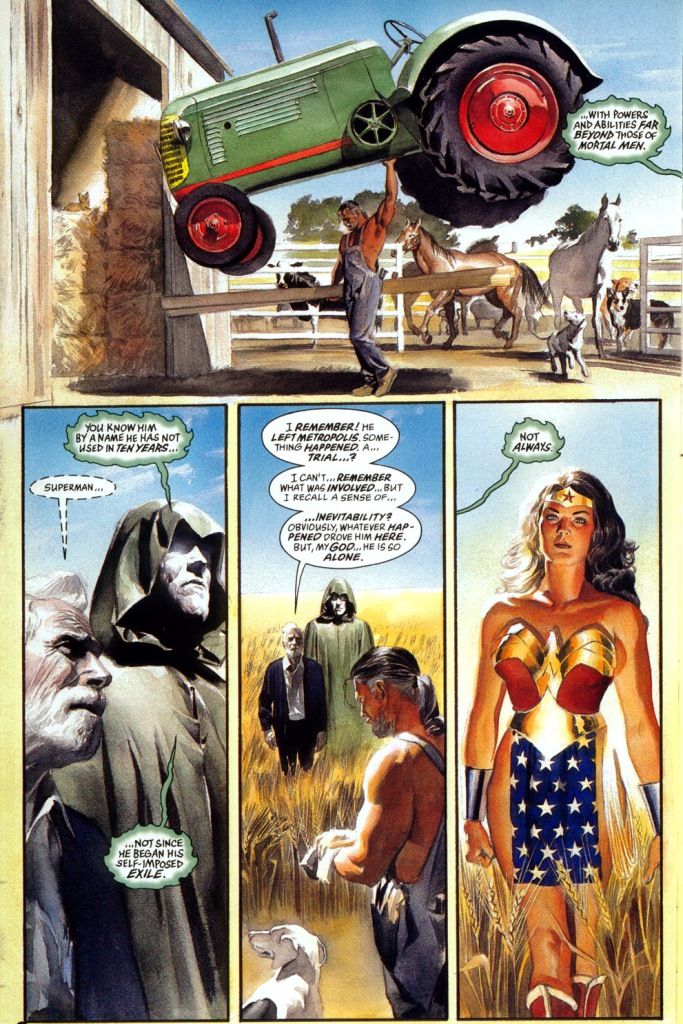 superman is retired (kingdom come)