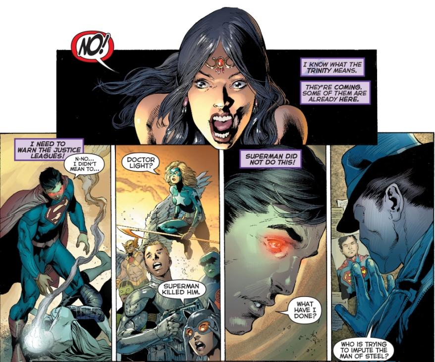 superman kills doctor light