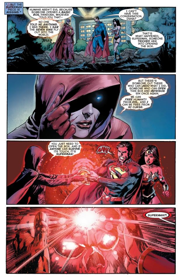 superman opens pandora's box