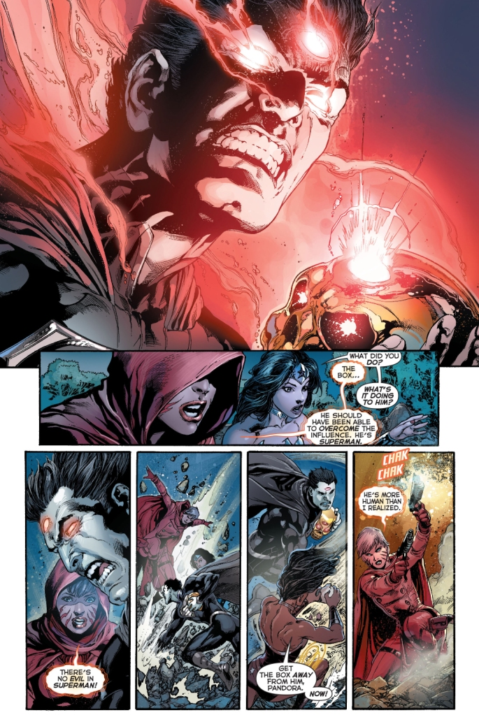 superman opens pandora's box
