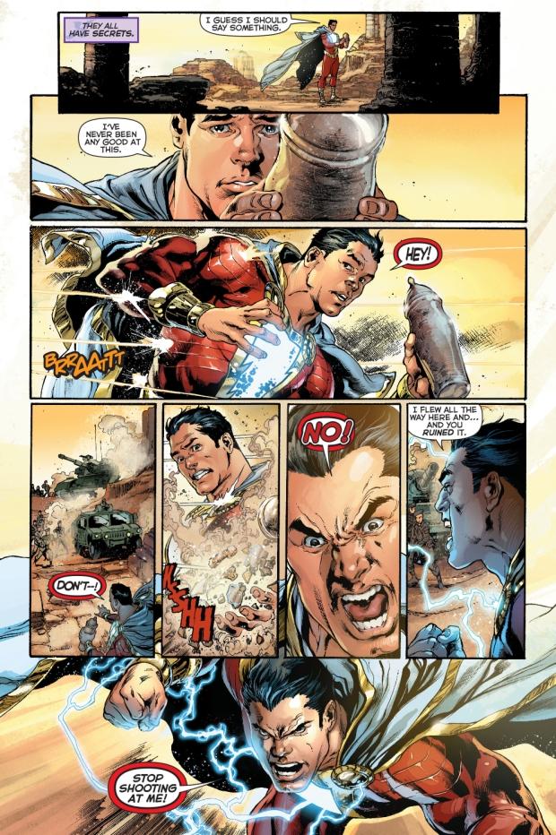 Shazam Aquaman Get New Magazine Covers: Superman VS Shazam (New 52)