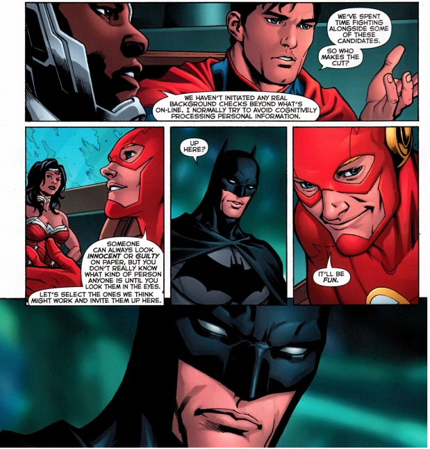 the justice league recruits new members