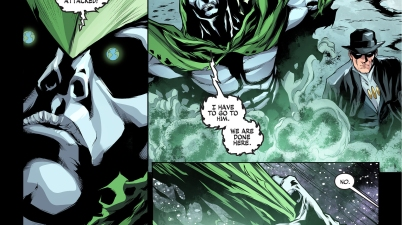 the spectre kills the phantom stranger